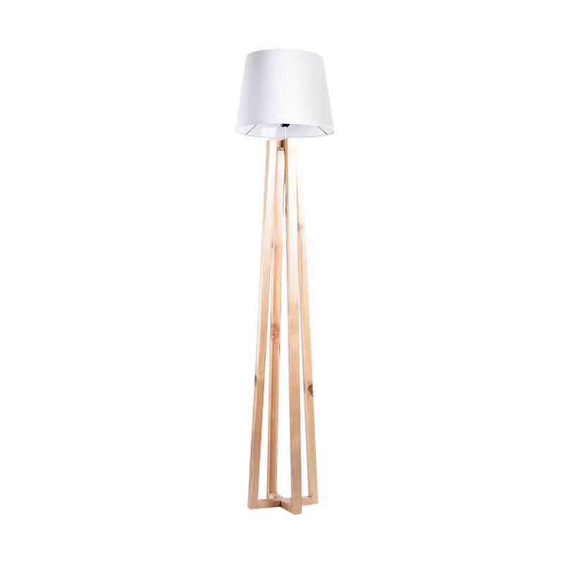 HOMEDEC 2019 nestudio Iris Standing Lamp Lampu Dekorasi White Beige