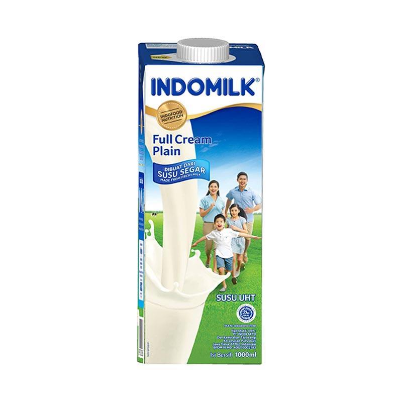 Indomilk Plain Susu UHT