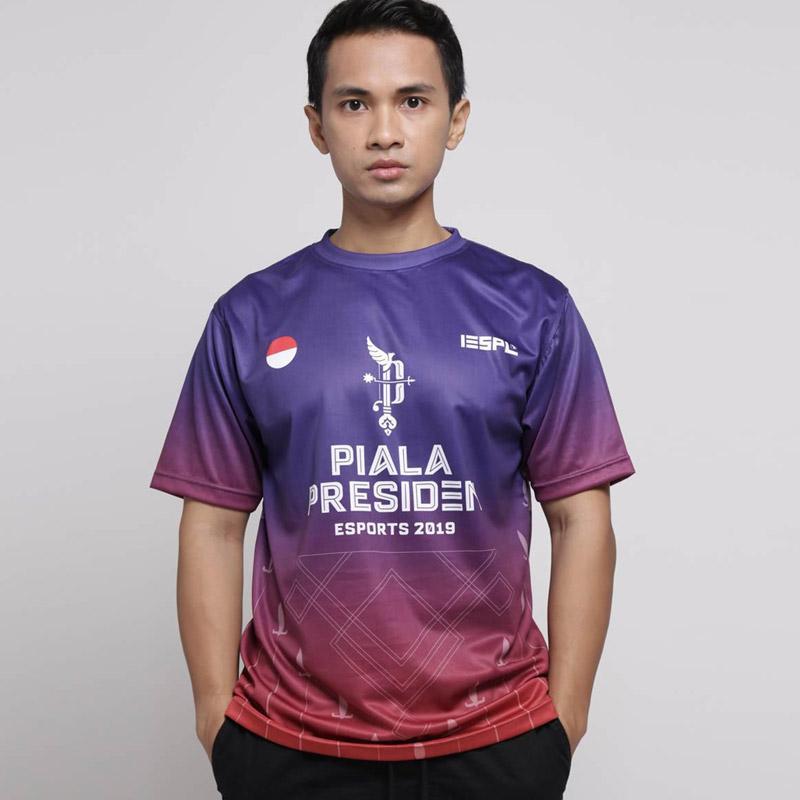 IESPL Piala Presiden Official Merchandise Jersey Pria
