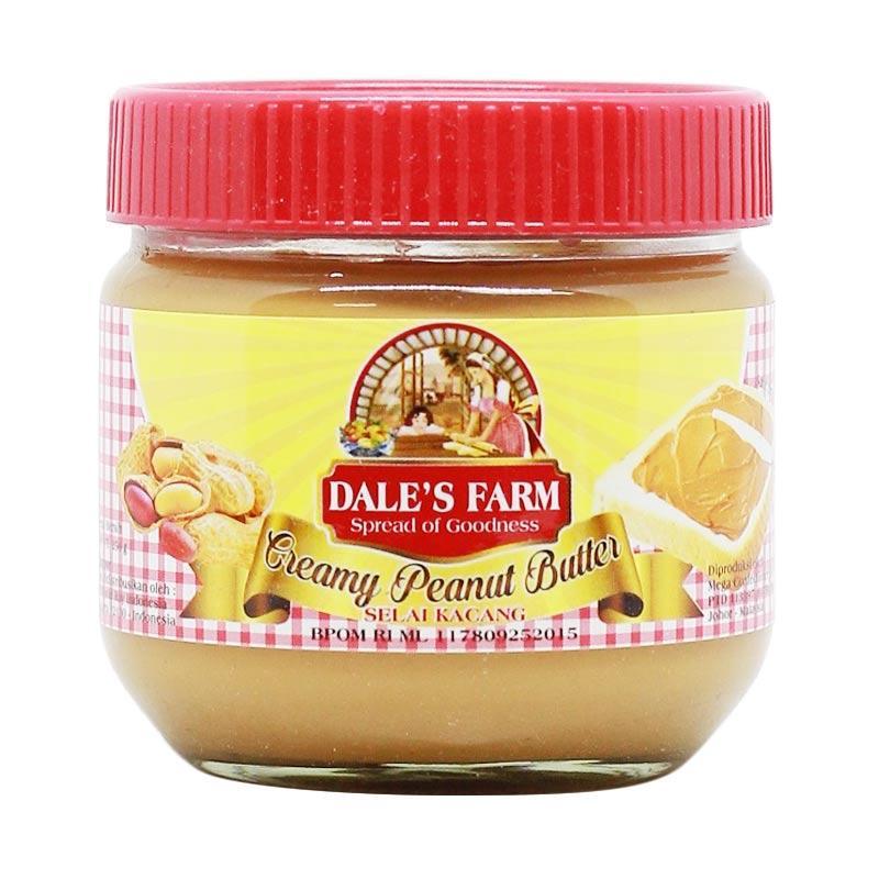 Jual Dale S Farm Peanut Butter Creamy Selai Kacang 250 G Murah Mei 2021 Blibli