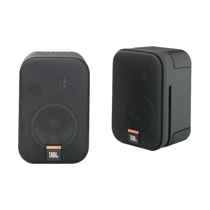 Jual Jbl Control 1x Two Way Personal Monitor Speaker System Black Online Desember 2020 Blibli