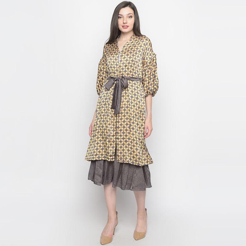 Batik Huza Reva Sutra Set Atasan Batik Wanita