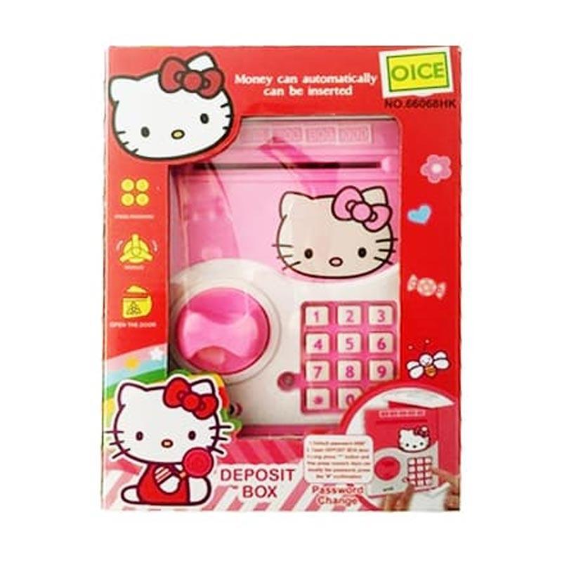 Jual Oice Deposit Box Hello Kitty Brankas Atm Saving Money Celengan Mainan Anak Murah Maret 2020 Blibli Com