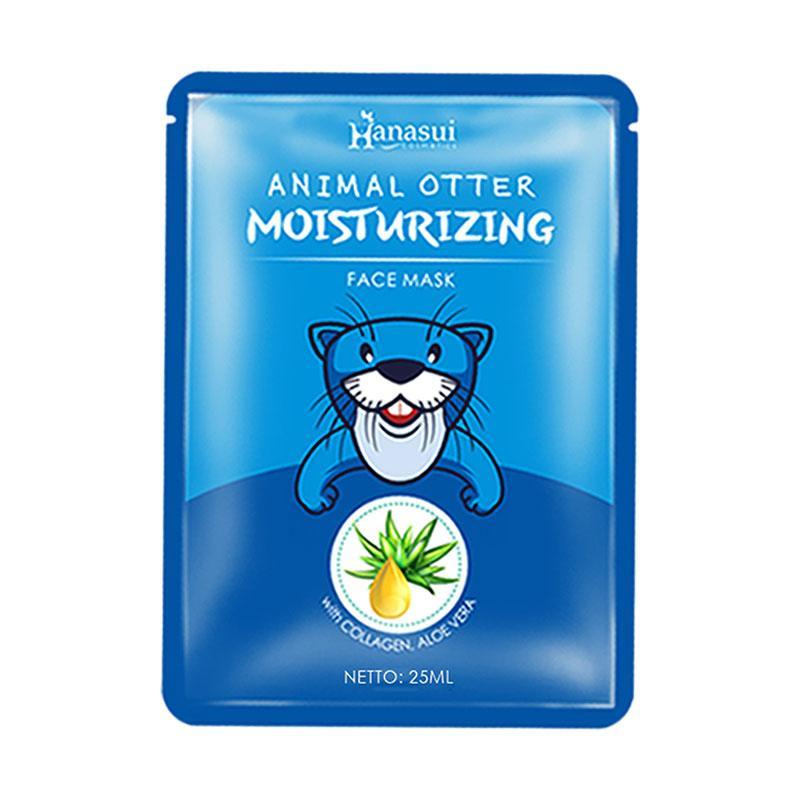 Hanasui Animal Face Mask Otter 25 mL