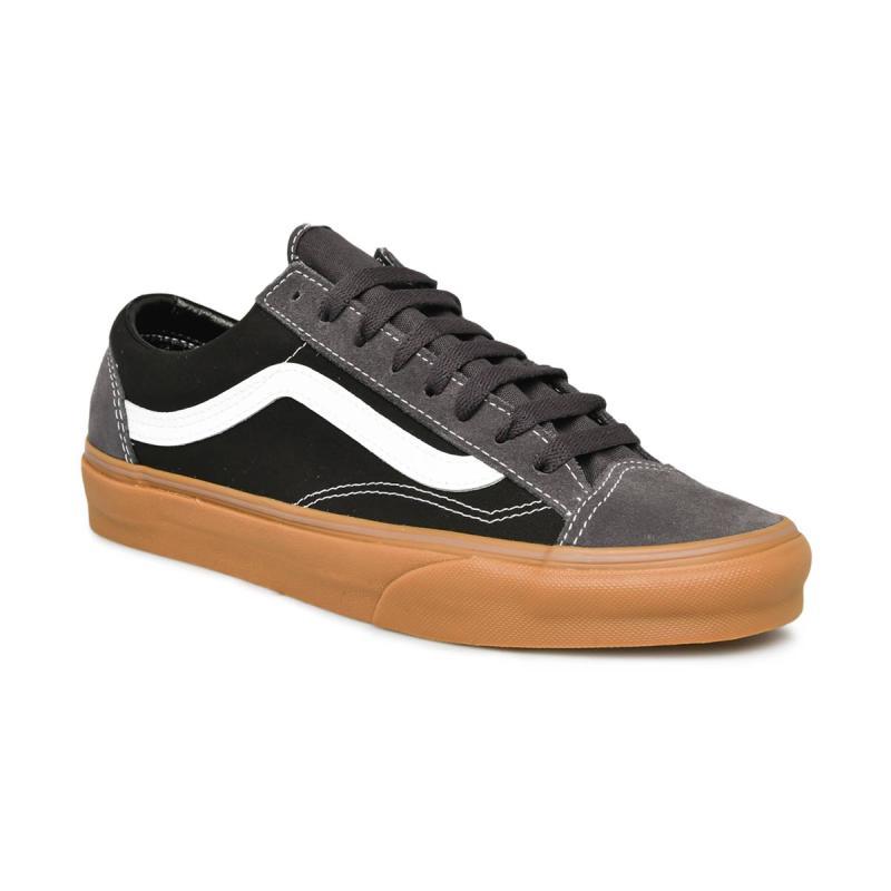 Vans UA Style 36 Gum Sepatu Pria Obsidian Black
