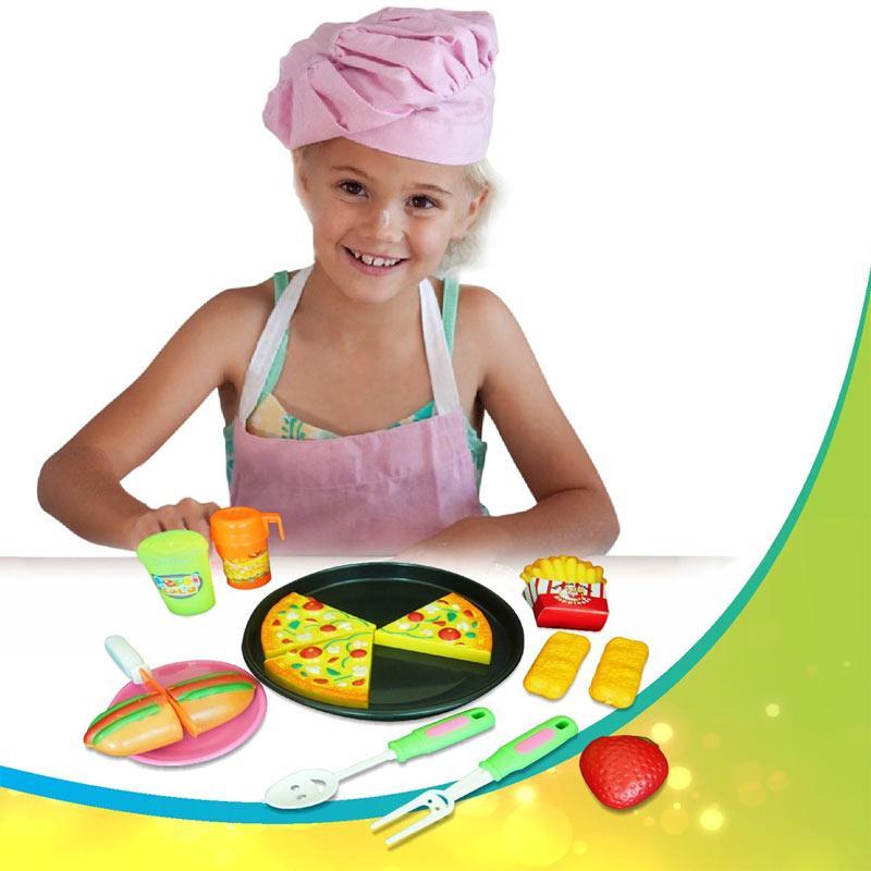 Jual Mainan Anak Perempuan Masak Masakan Pizza Set Oct2203 Online November 2020 Blibli Com