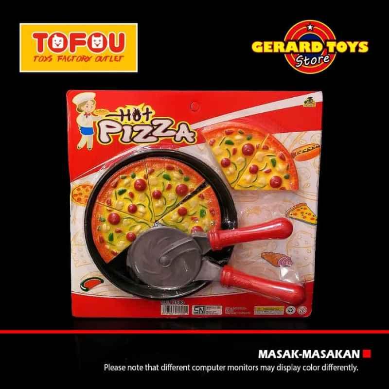 Jual Oem Oct2500 Masak Masakan Hot Pizza Mainan Anak Online November 2020 Blibli Com