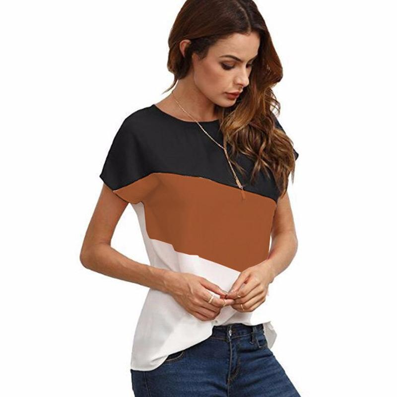 Jual Iit Summer Fashion Women T Shirts Mixed Color Stylish Short Sleeves Top Tee Clothes Female Clothing Online Oktober 2020 Blibli Com