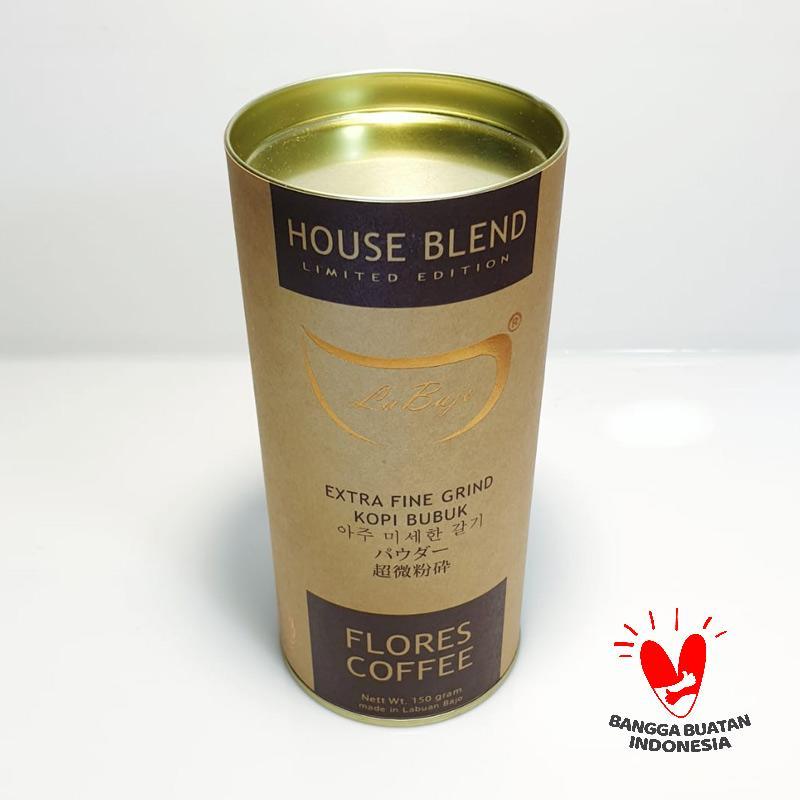 La Bajo Flores Coffee Blend Robusta Arabica Kopi Bubuk 150 g