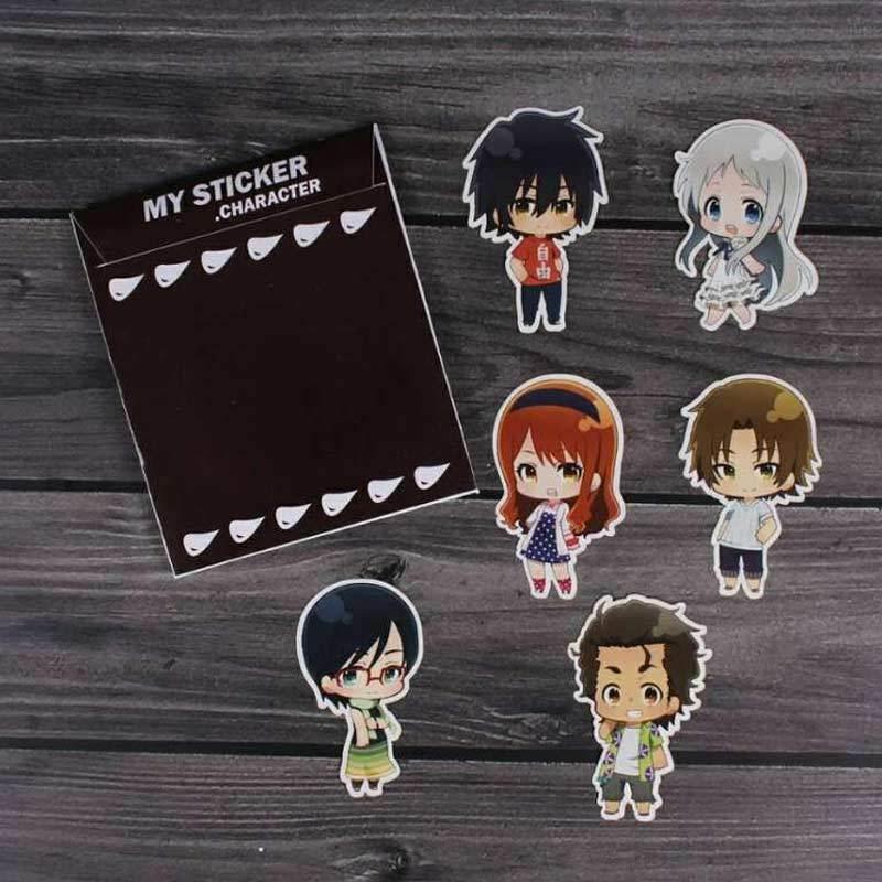 Oem Anohana Anime Karakter Meiko Honma Menma Sticker Terbaru Agustus 2021 Harga Murah Kualitas Terjamin Blibli