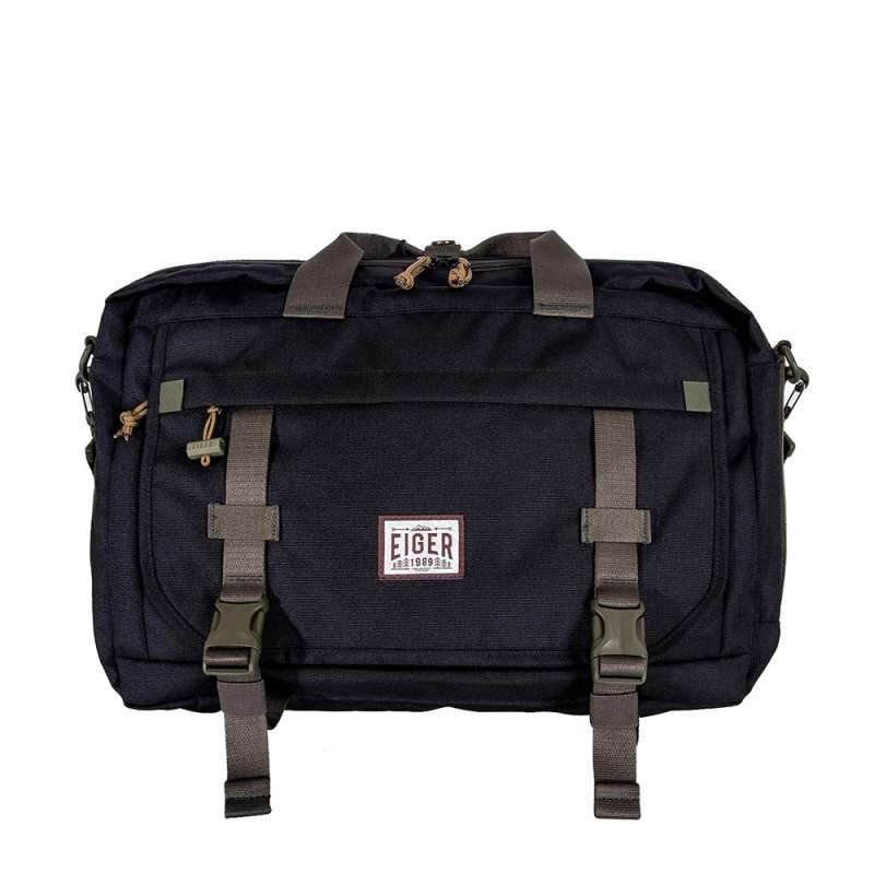 Eiger 1989 Briefcase Trilogic Laptop 20L Backpack Pria