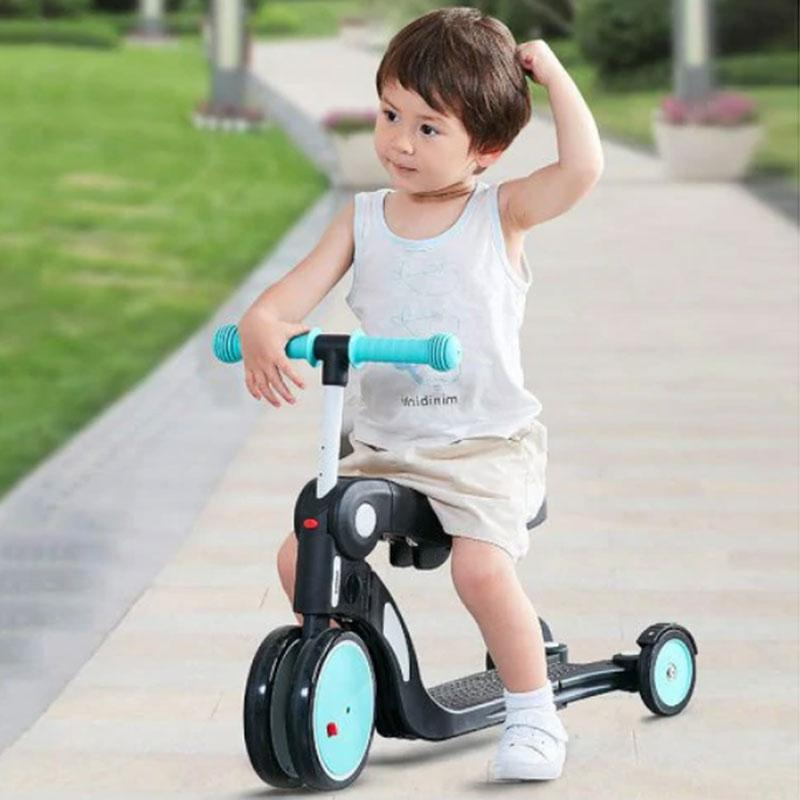 Xiaomi Bebehoo 5in1 Multifunctional Deformation Wheeled Scooter Bike