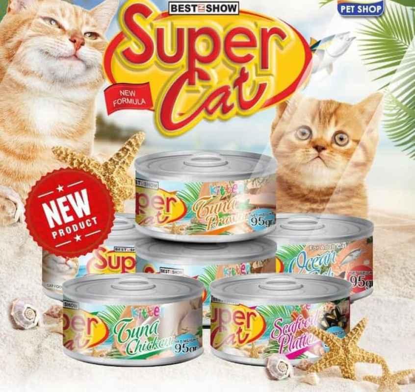 Jual Super Cat Pengganti Makanan Basah Kucing 95 G Pouch Online Desember 2020 Blibli