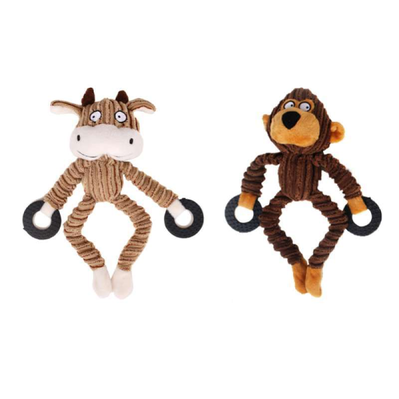 Set Of Dog Stuffed Animals, Jual 2 Pcs Set Pet Dog Toy Fun Puppy Chew Squeaker Dog Squeaky Play Sound Toys Online November 2020 Blibli
