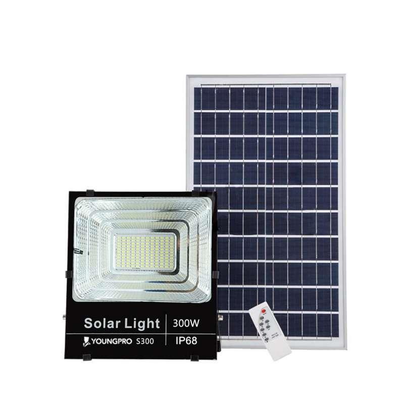 Jual Youngpro S300 Lampu Taman Tenaga Surya Solar Panel Led 300 Watt Online April 2021 Blibli
