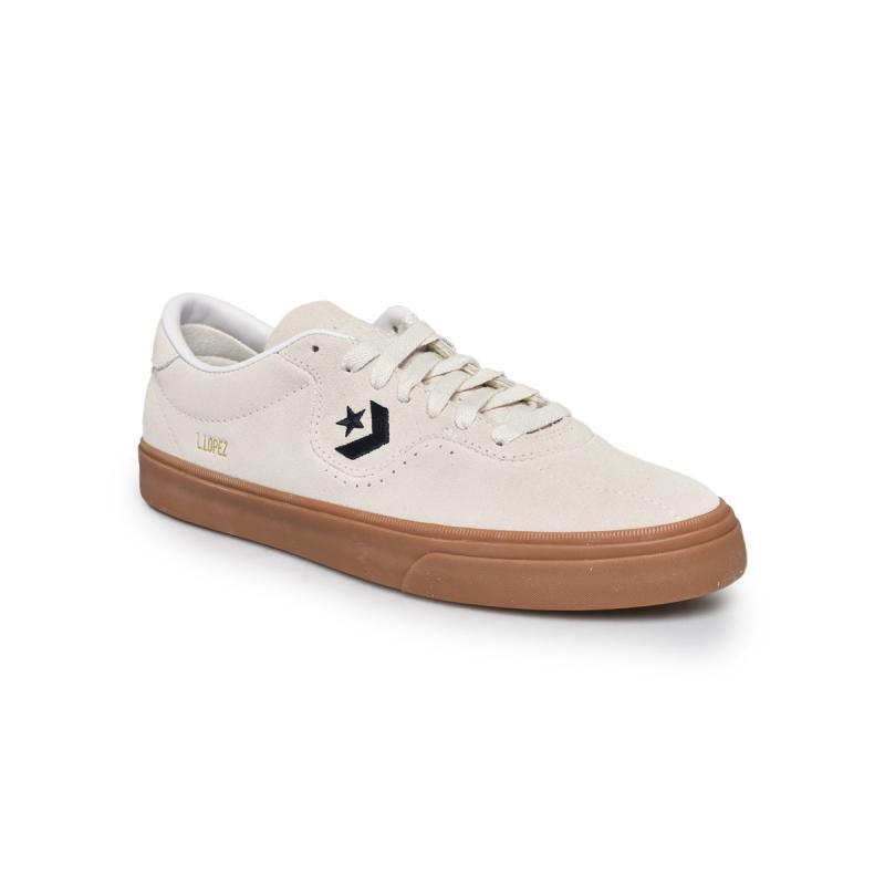 Converse Louie Lopez Pro Sneaker Shoes Pria Egret Obsidian Gum