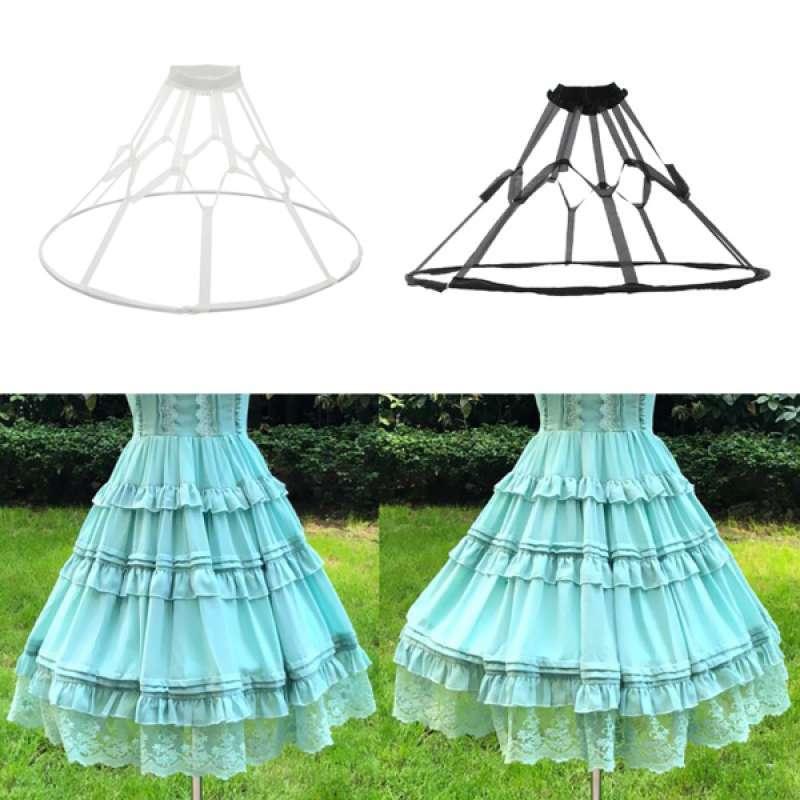 Jual 2pcs Ball Gown Dress Hoop Underskirt Bridal Dress Petticoat Crinoline Online Januari 2021 Blibli