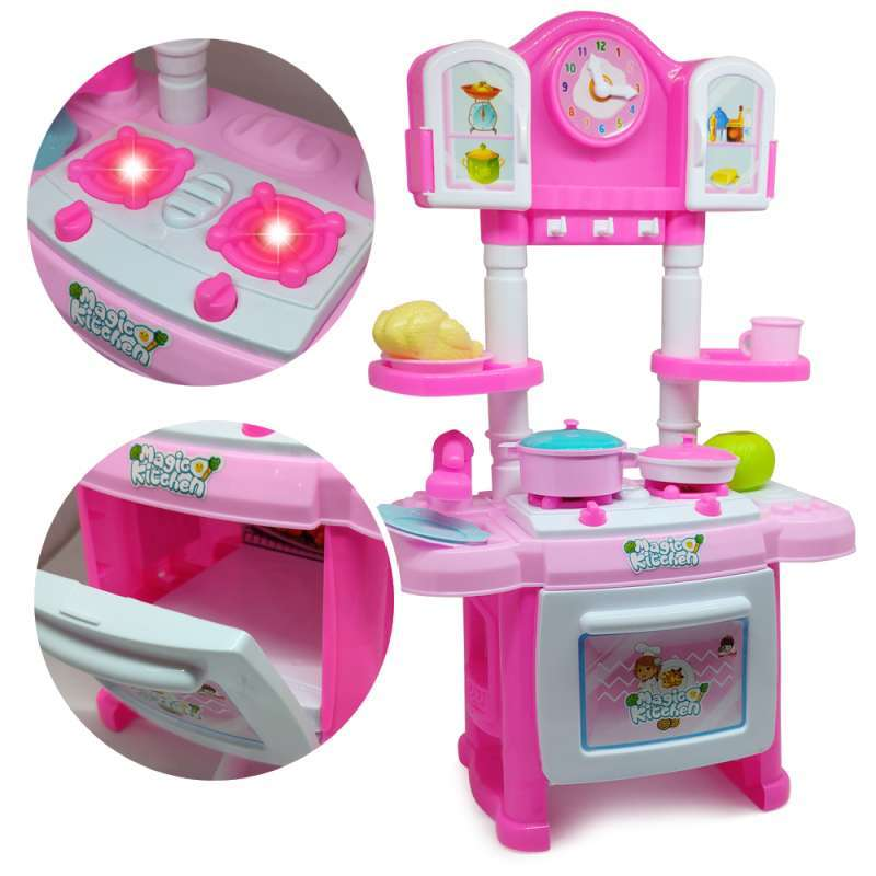 Jual Mainan Masak Masakan Set Batere Operate Mainan Anak Kitchen Set Oct2037 Online Oktober 2020 Blibli Com