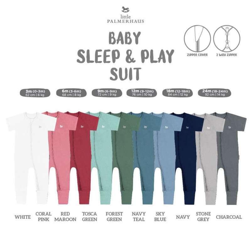 Little Palmerhaus Sleep Play Suit Jumper Bayi