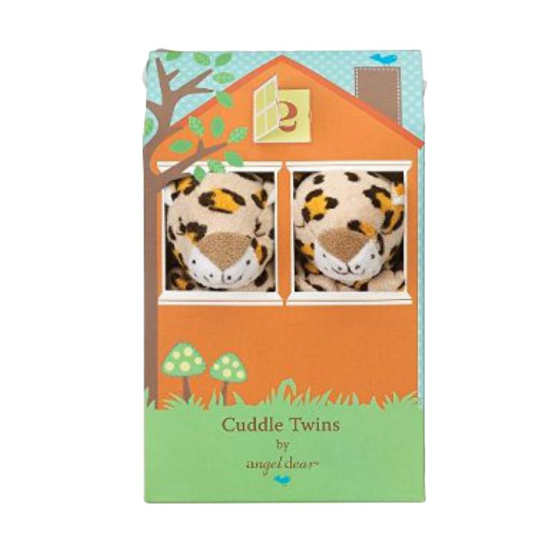 Angel Dear Mini Blankie Twins - Leopard