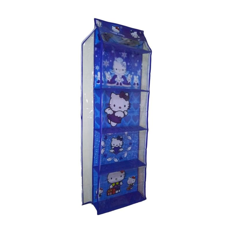 Angentyas Hello Kitty Rak Tas Gantung - Blue