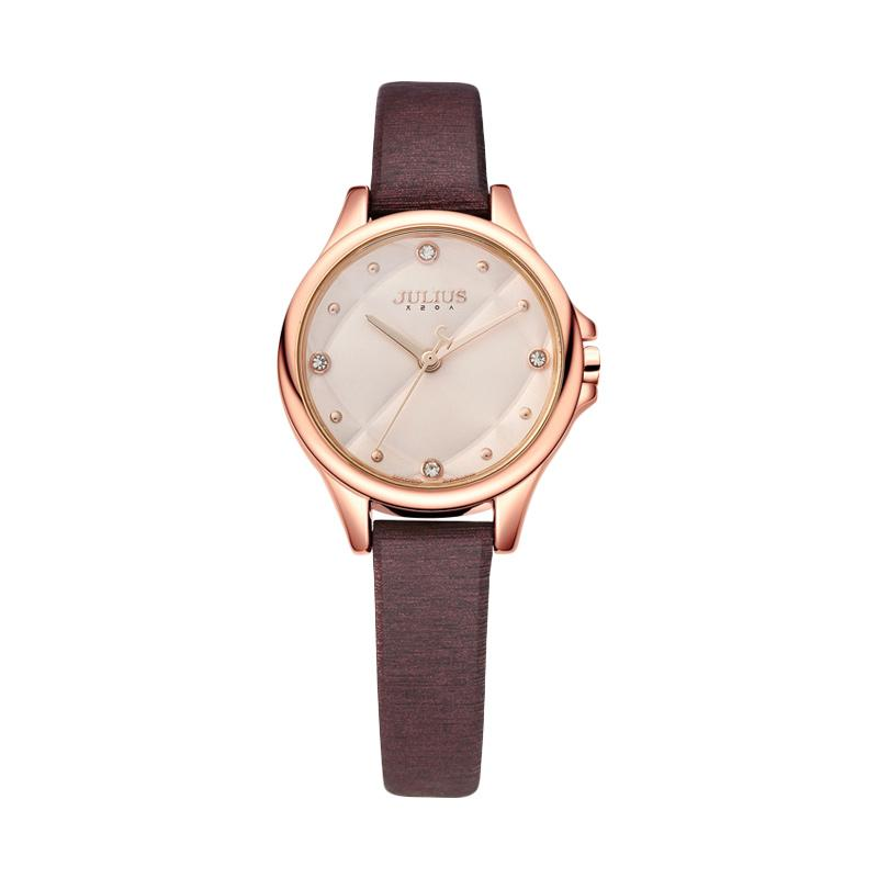 Julius JA-882-D Jam Tangan Wanita - Brown