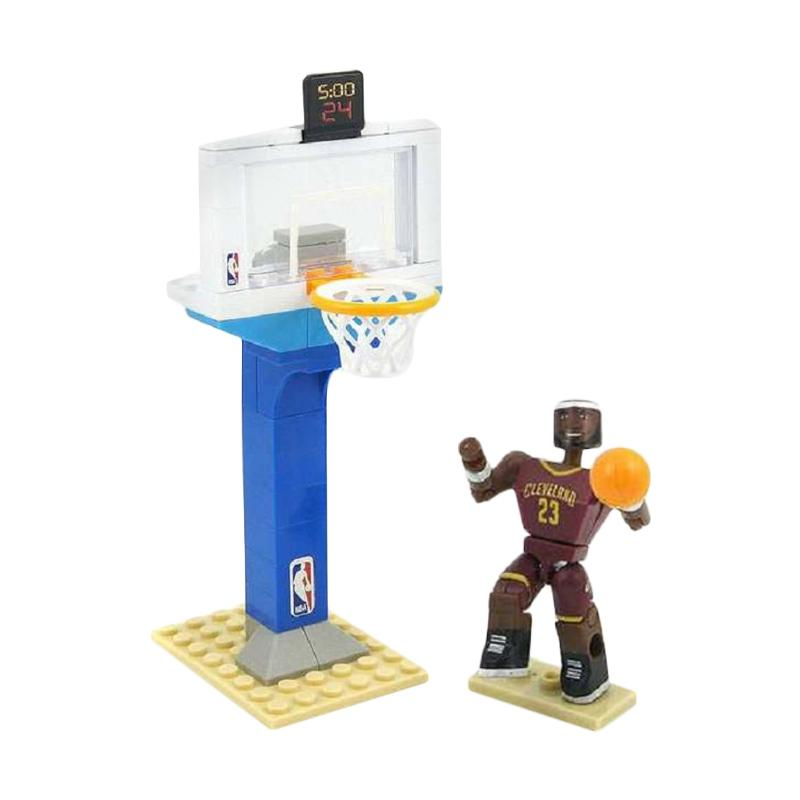NBA Lego Style C3 Game on Series LeBron James Blocks & Stacking Toys