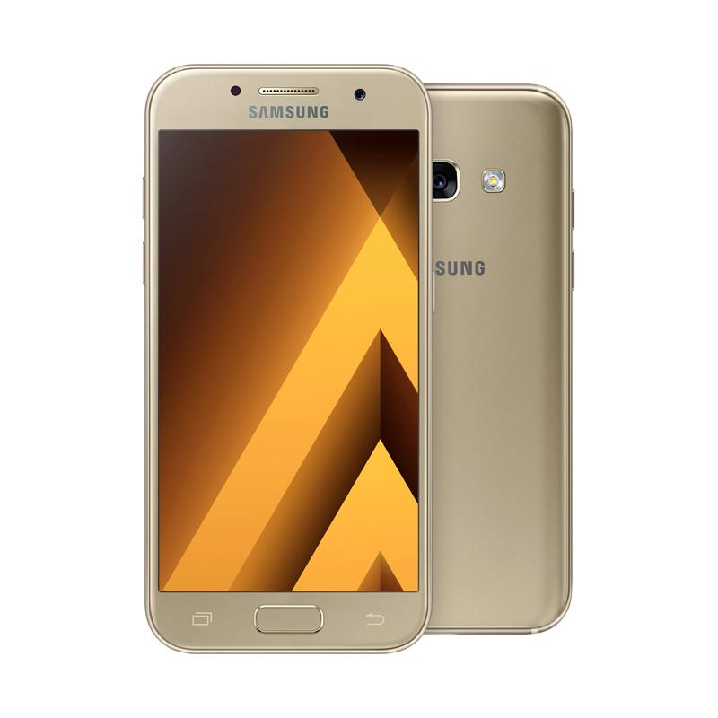 Samsung A3 2017 SM-320 Smartphone - Gold [16GB/ 2GB]