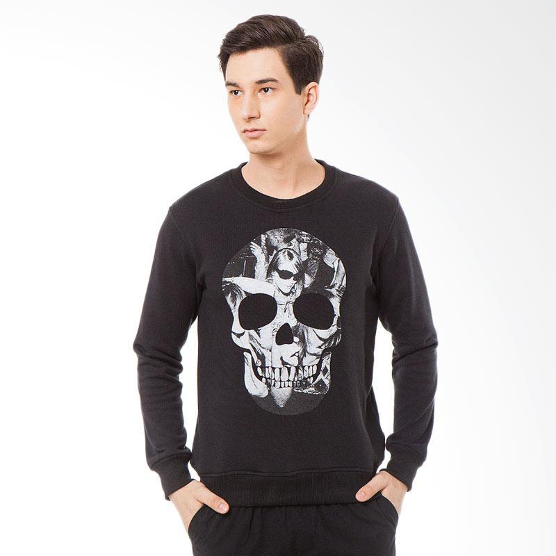 Svperbia Black Skull Rave Sweater