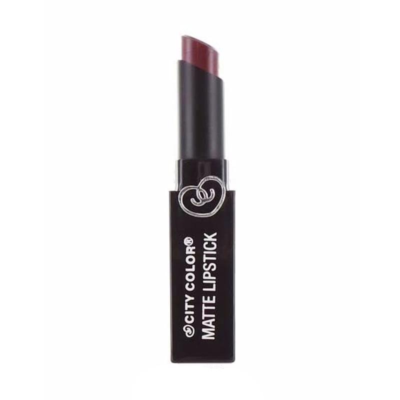 City Color Matte Lipstick - Mocha
