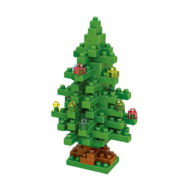 LOZ 9123 Xmas Tree Mini blocks