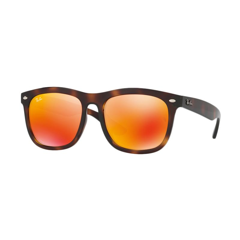 Ray-Ban 710-6Q Rb4260D Orange Flash Kacamata - Havana [Size 57]