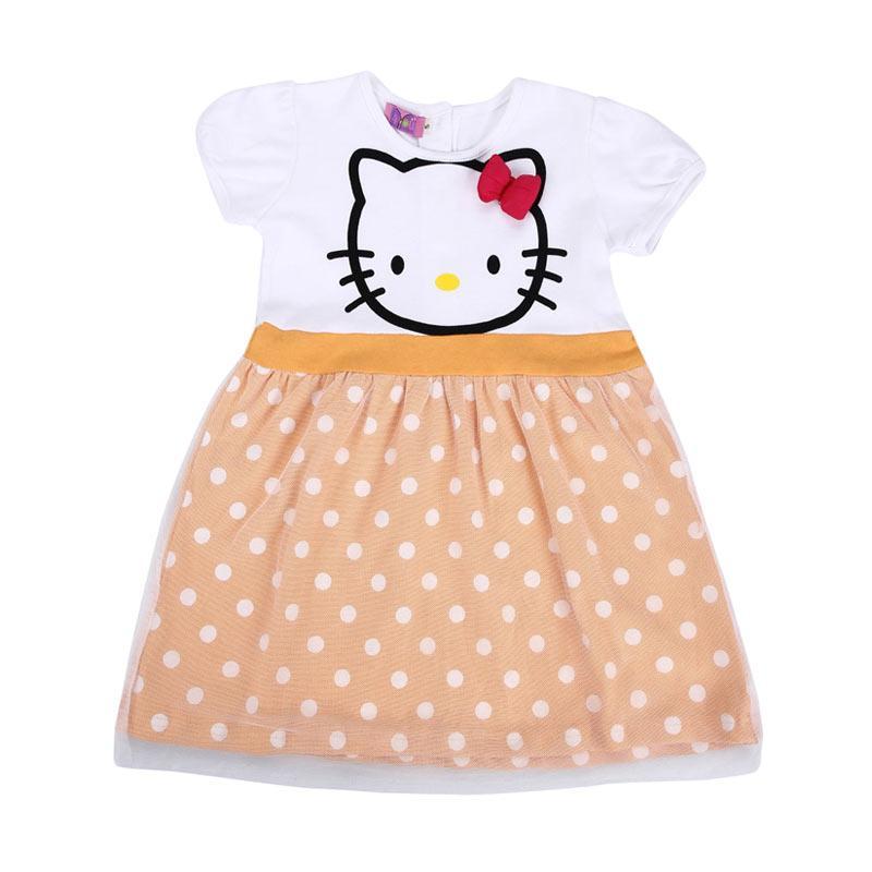 4 You Hello Kitty Print Dress - Orange