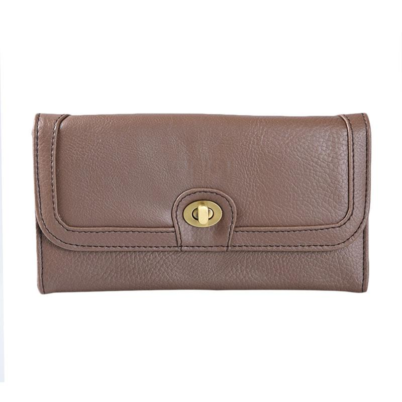 Alibi Coly Wallet W0281C3 Long Wallet - Brown
