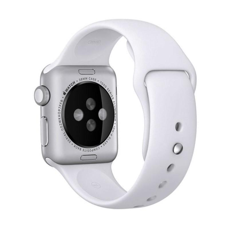 LOLLYPOP Strap Sports Band for Apple Watch 42mm - White