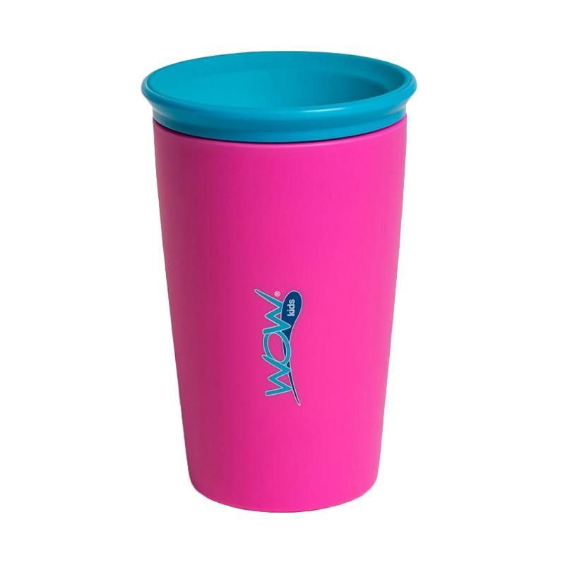 Wow Kids Spill Free 360 Derajat Drinking Cup - Pink