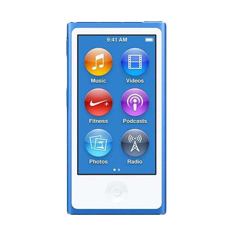 harga Apple iPod Nano 7 16 GB Portable Player - Blue Blibli.com