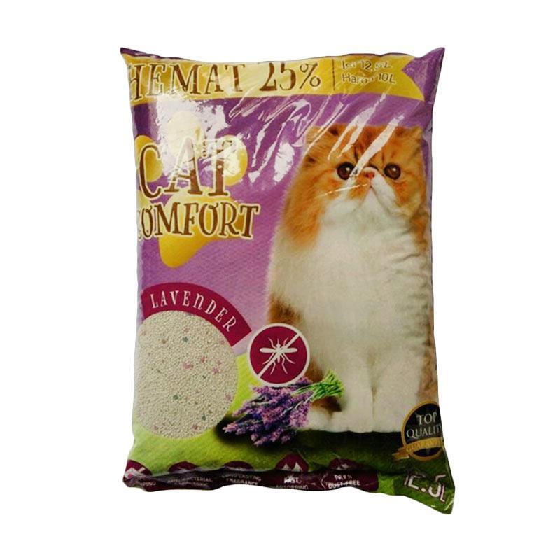 Cat Comfort LAVENDER Pasir Kucing [12.5 L]