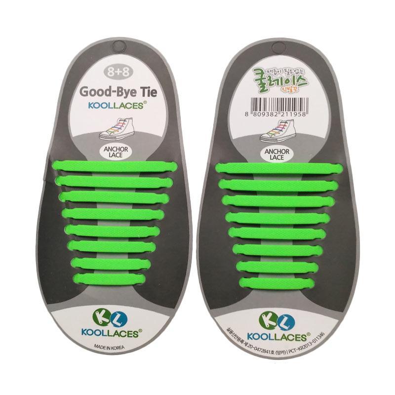 Koollaces Dewasa Tali Sepatu - Green
