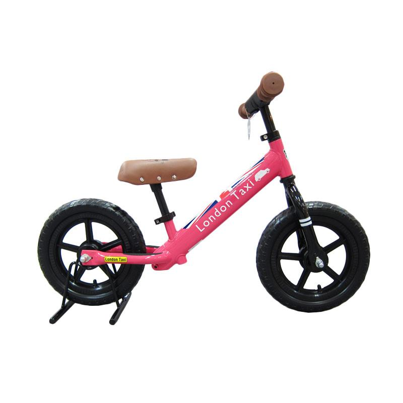 London Taxi Kickbike Sepeda Anak - Pink