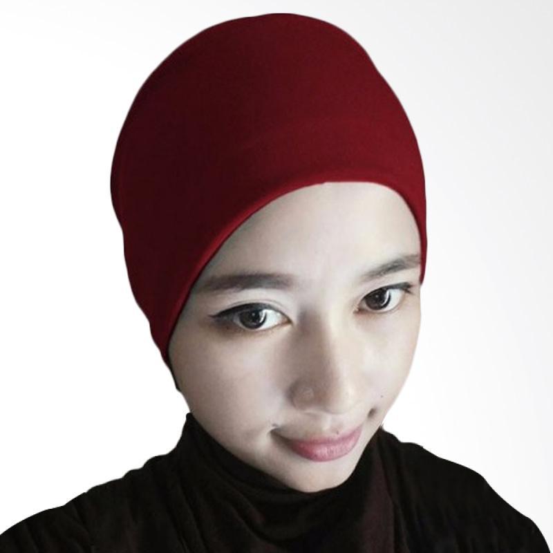 Milyarda Hijab Arab Ciput - Maroon