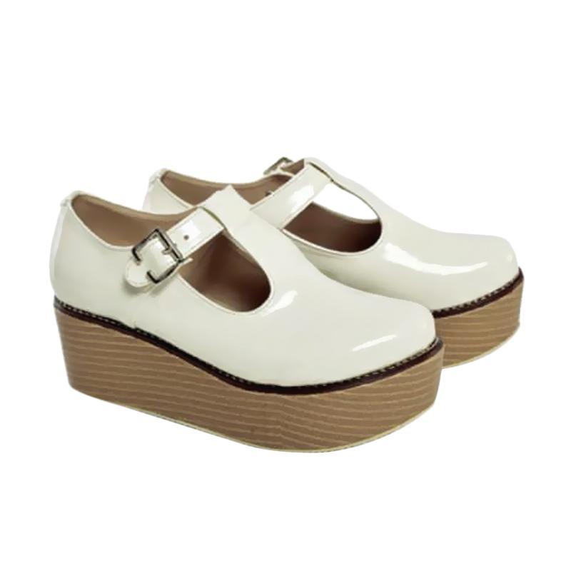 Spiccato SP 515.45 Sepatu Wedges - Putih