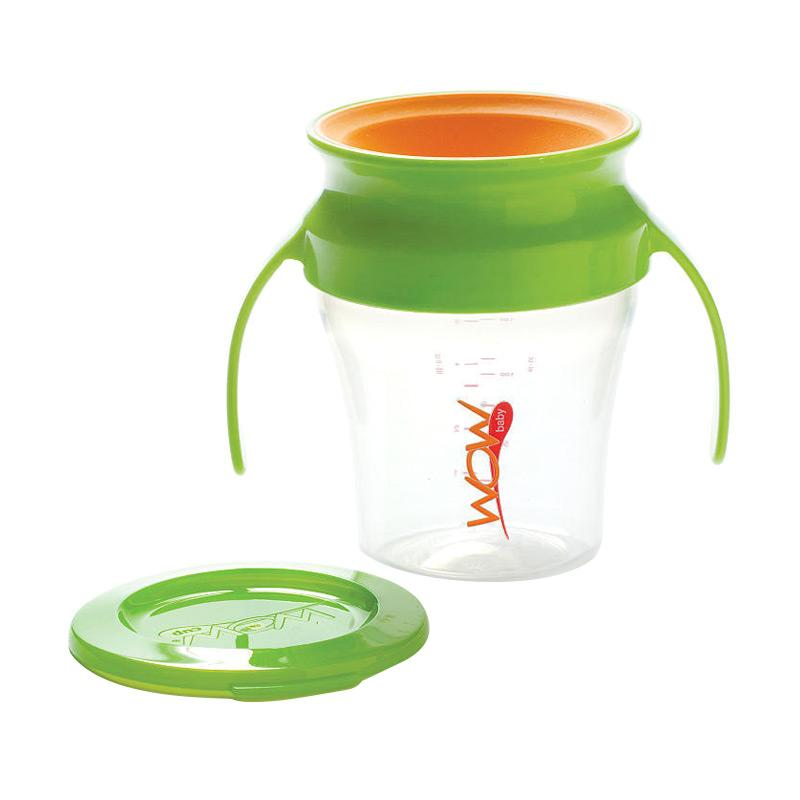 Wow Baby Spill Free 360 Derajat Training Cup - Green