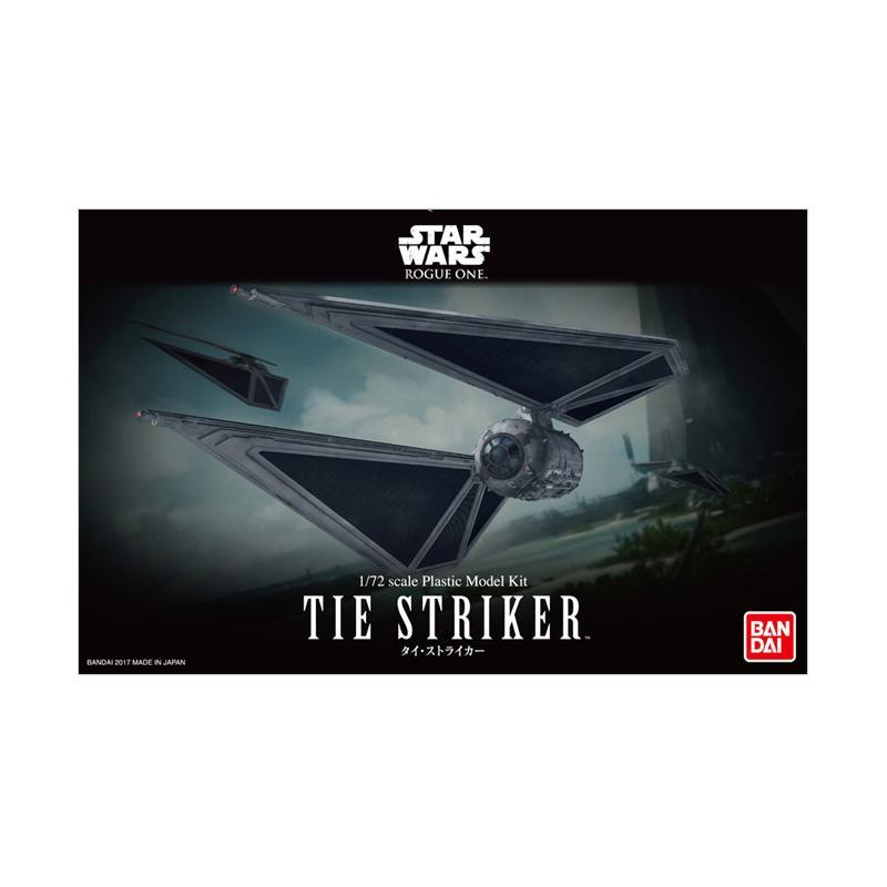 Bandai Star Wars Tie Striker Model Kit [1 : 72]