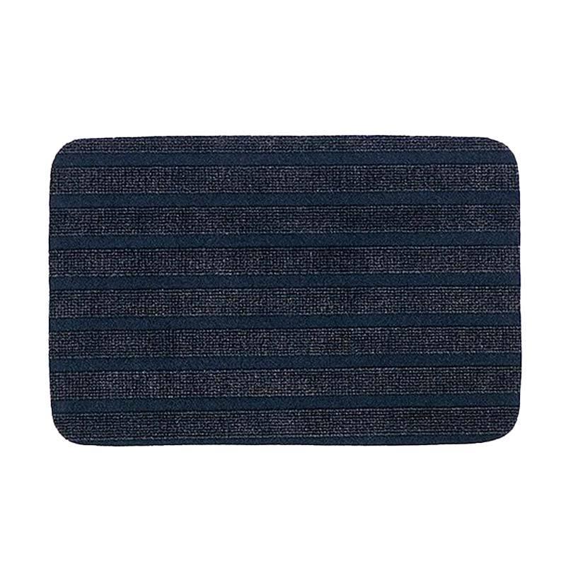 Ikea Boris Keset Pintu - Biru Tua [38 x 57 cm] 601.866.89