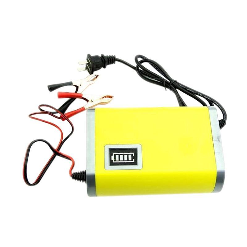 harga Serena Charger Accu Portable - Kuning [2A/ 12V] Blibli.com