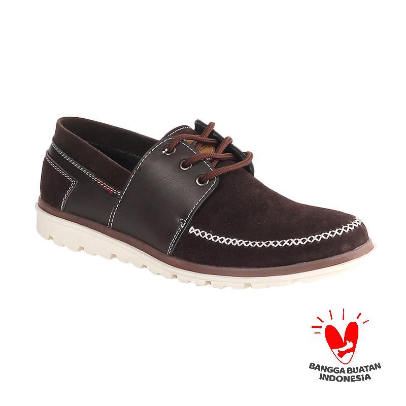 Blackkelly Blake LSA 922 Sepatu Casual Pria - Dark Brown