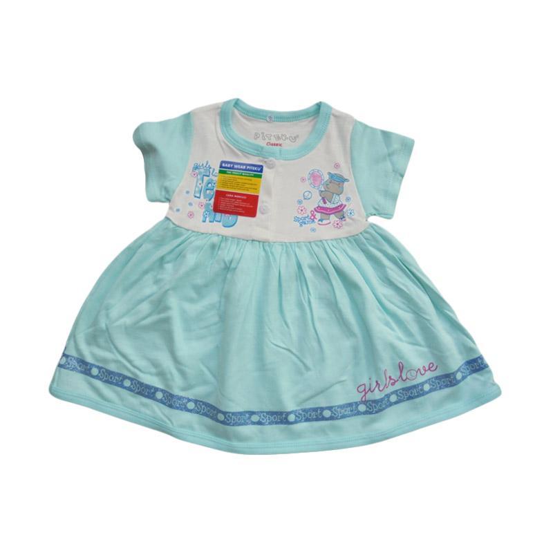 Piteku Hippo Tennis Dress Anak - Blue