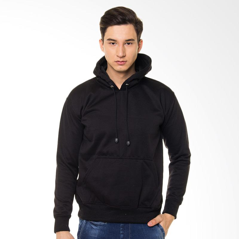Browncola Jumper Jacket Pria - Black