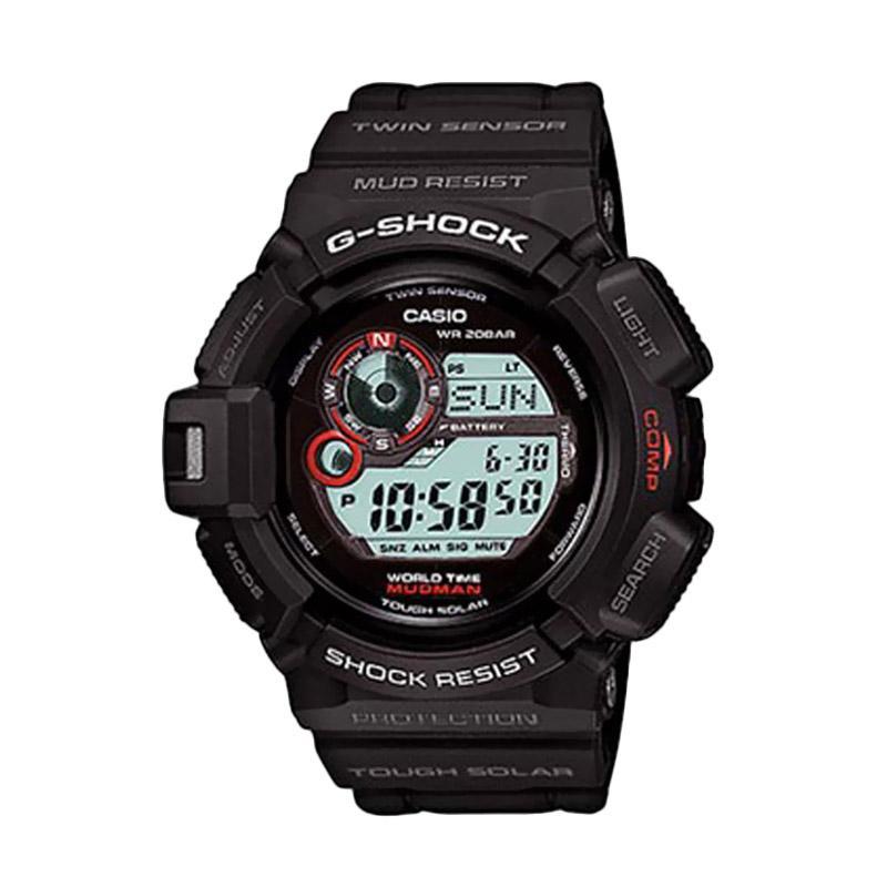 Casio G-Shock Jam Tangan Pria G-9300-1 - Hitam Merah
